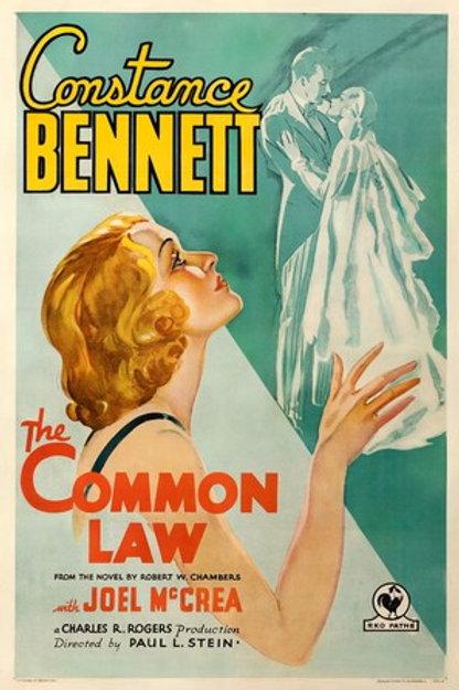 MODELO DE AMOR (The Common Law, 1931)