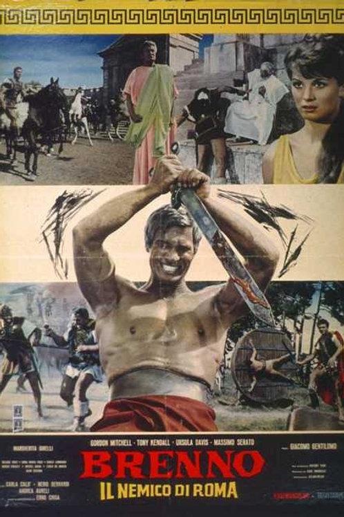 BRENNO, O INIMIGO DE ROMA (Il Nemico di Roma, 1963) dvd legendado em português
