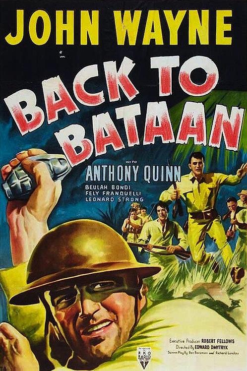 ESPÍRITO INDOMÁVEL (Back to Bataan, 1945)