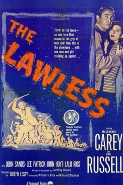 O FUGITIVO DE SANTA MARTA (The Lawless, 1950)