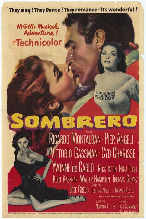 MÉXICO DOS MEUS AMORES (Sombrero, 1953) DVD legendado em português