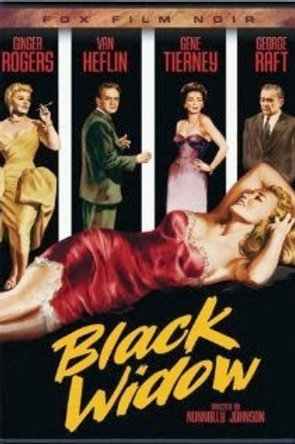 A VÍUVA NEGRA (Black Widow, 1954) - Legendado