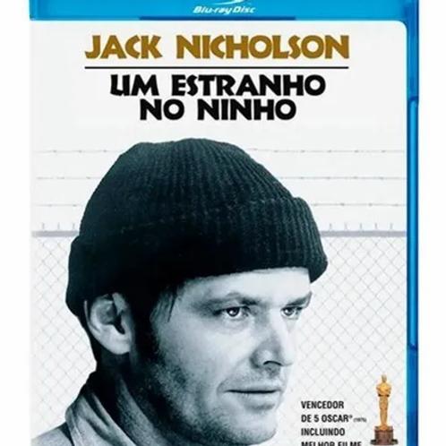 UM ESTRANHO NO NINHO (One Flew Over The Cuckoo's Nest, 1975) bluray