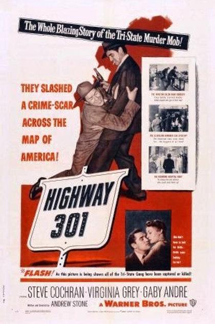 A ESTRADA 301 (Highway 301, 1950) - Legendado em português