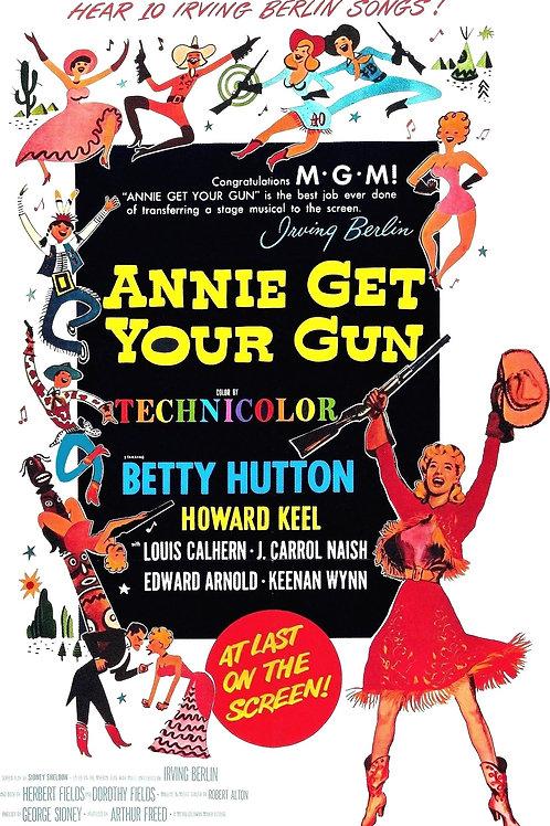 BONITA E VALENTE (Annie Get You Gun, 1950)