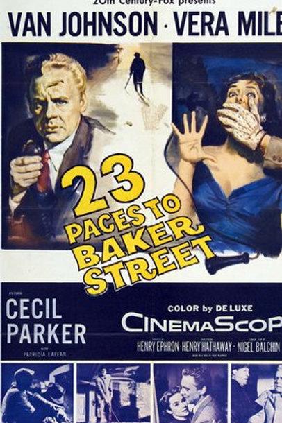 A 23 Passos da Rua Baker (23 Paces to Baker Street, 1956)