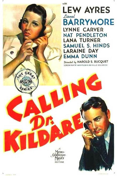 CHAMANDO O DR. KILDARE (Calling Dr. Kildare, 1939)