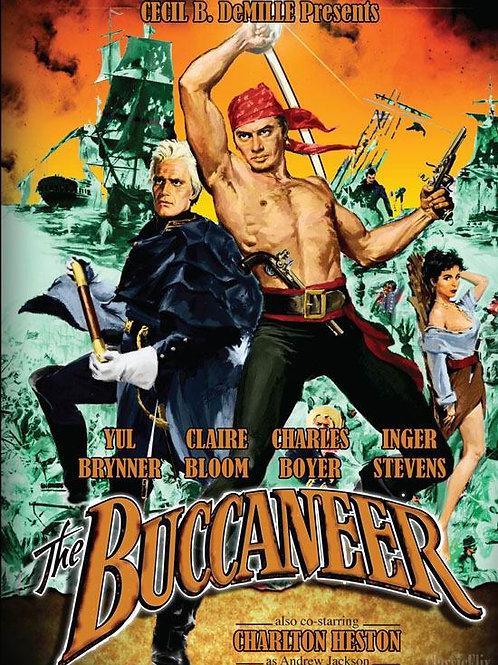 CORSÁRIO SEM PÁTRIA (The Buccanner, 1958) DVD legendado em português