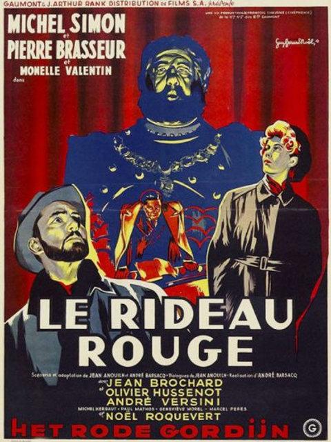 A CORTINA VERMELHA (Le Rideau Rouge, 1952)