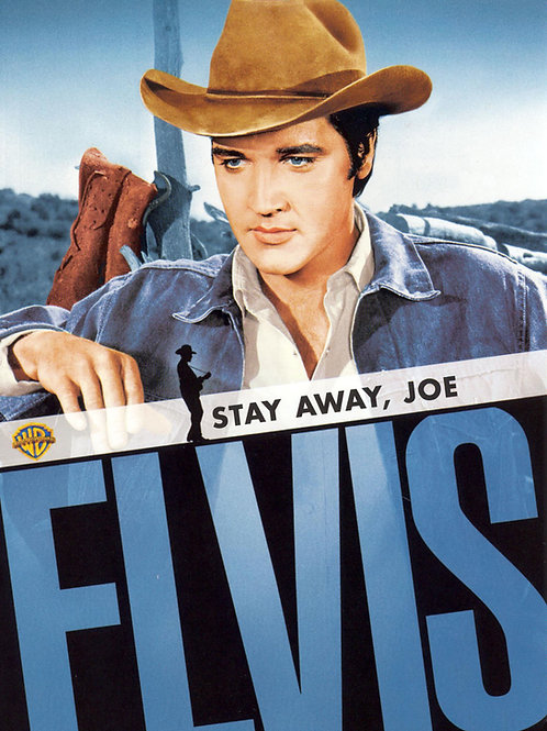 JOE É MUITO VIVO (Stay Away, Joe, 1968)