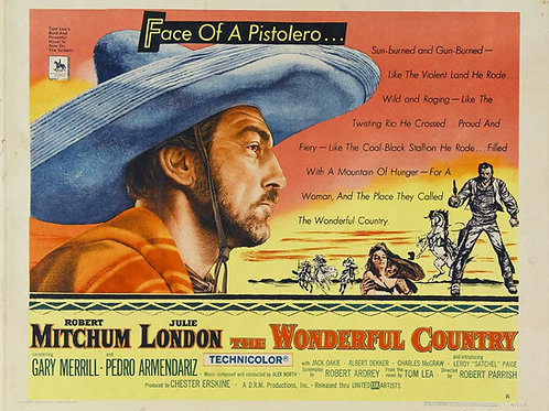 NAS MARGENS DO RIO GRANDE (The Wonderful Country, 1959) - Blu-ray legendado