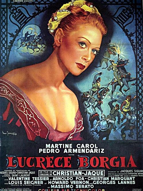 OS AMORES DE LUCRÉCIA BÓRGIA (Lucrece Borgia, 1953) DVD legendado em português