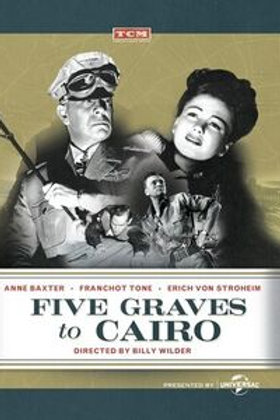 CINCO COVAS NO EGITO (Five Graves To Cairo, 1953)