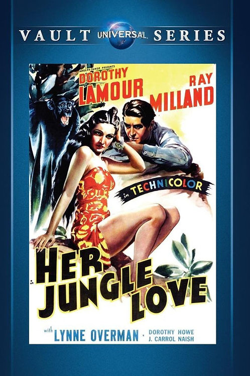 IDÍLIO NA SELVA (Her Jungle Love, 1938)