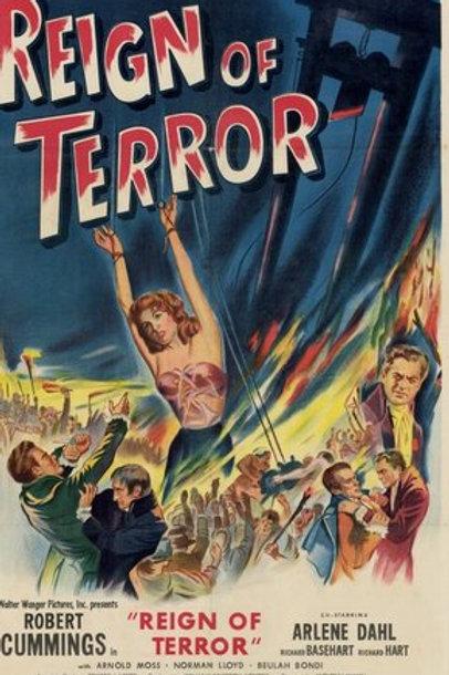 A SOMBRA DA GUILHOTINA (Reign Of Terror, 1947) - Legendado