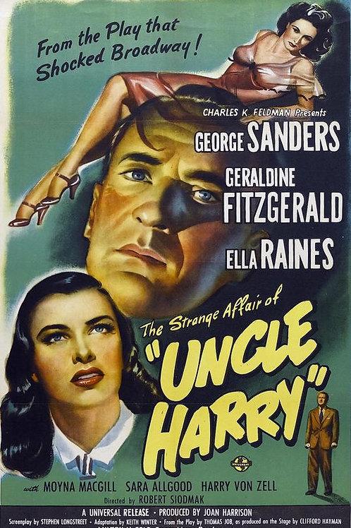 CAPRICHOS DO DESTINO (The Strange Affair of Uncle Harry, 1945) DVD legendado