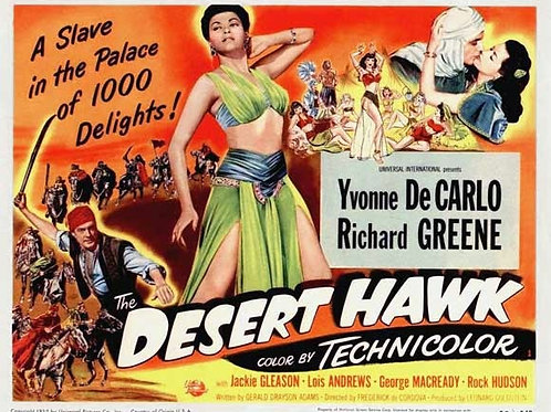 O GAVIÃO DO DESERTO (The Desert Hawk, 1950) - DVD legendado em português