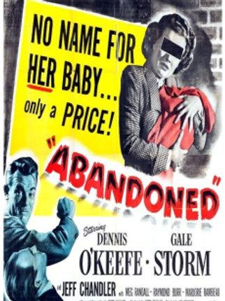 ABANDONADA (Abandoned, 1949)