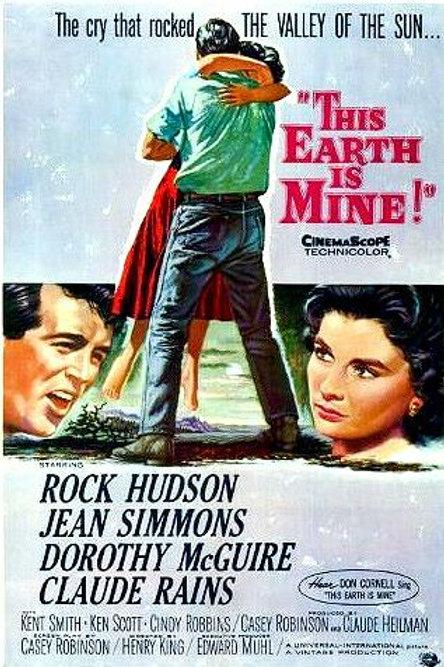 O VALE DAS PAIXÕES (This Earth Is Mine, 1959) DVD legendado