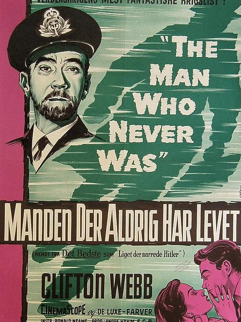 O HOMEM QUE NUNCA EXISTIU (The Man Who Never Was, 1956) DVD legendado em portugu