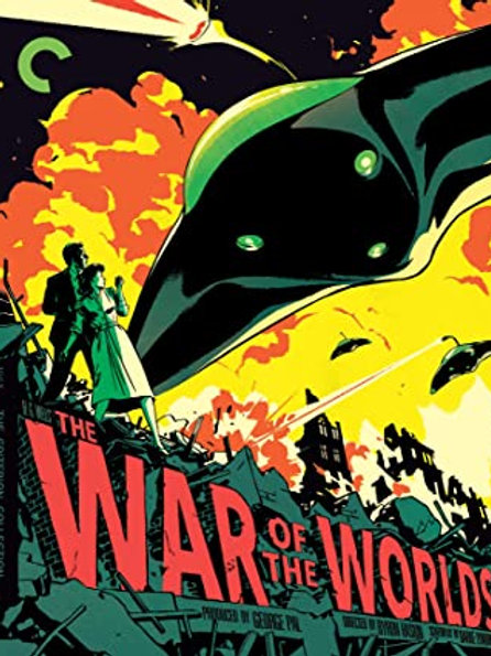 A GUERRA DOS MUNDOS (The War of the Worlds, 1953) Criterion Collection
