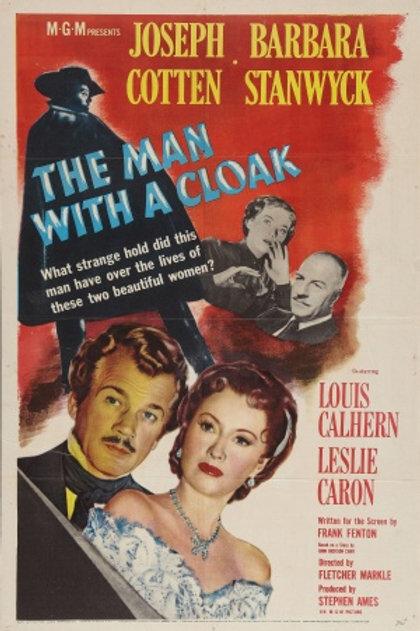 O HOMEM DAS SOMBRAS (The Man With A Cloak- 1951) - Legendado