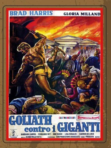 GOLIAS CONTRA O GIGANTE (Goliath contro i giganti, 1961)