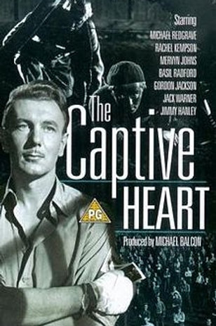 CORAÇÕES AFLITOS (The Captive Heart, 1946)