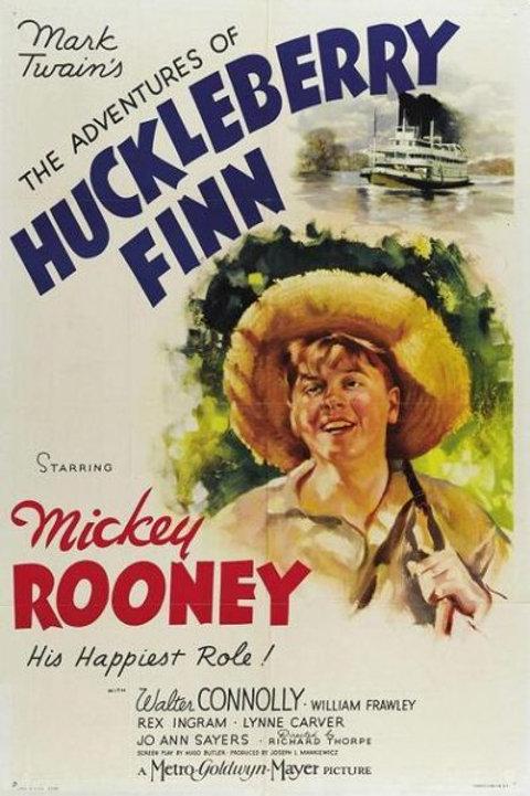 AS AVENTURAS DE HUCK (The Adventures of Huclkeberry Finn, 1939)