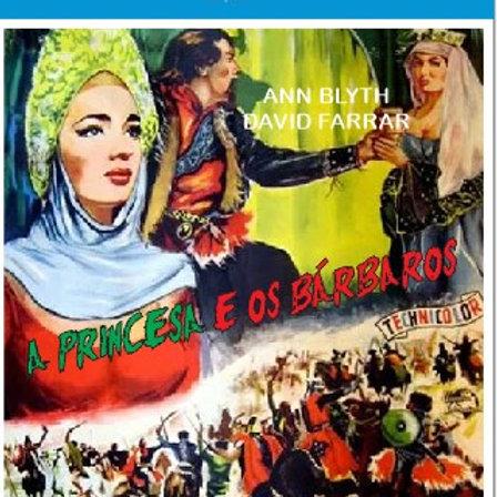 A PRINCESA E OS BÁRBAROS (The Golden Horde, 1951)Blu-ray