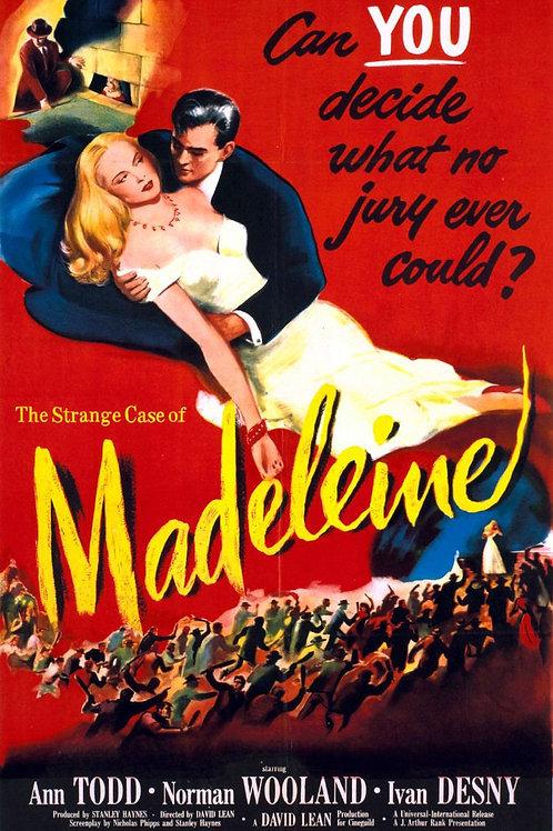 AS CARTAS DE MADELEINE (Madeleine, 1950)