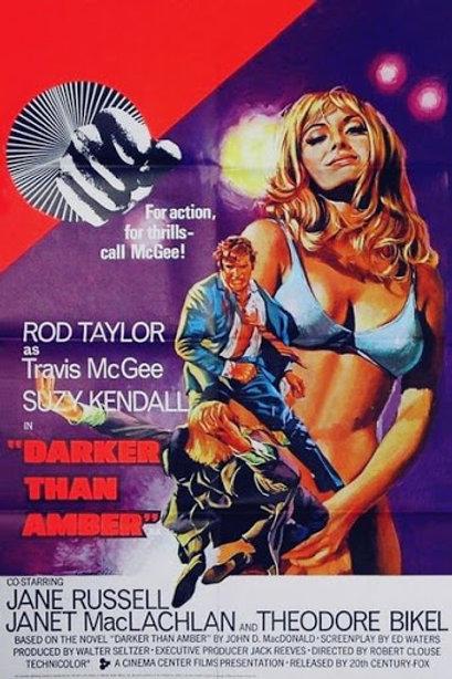A MORTE NÃO MARCA HORA (Darker Than Amber, 1970)