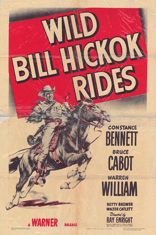 TROPEL DE VINGADORES (Wild Bill Hickok Rides- 1942) - Legendado