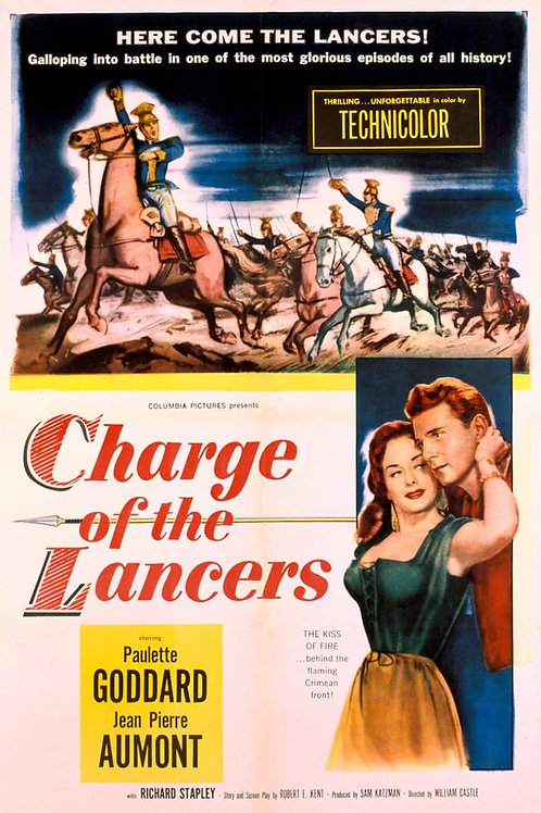 A CARGA DOS LANCEIROS (Charge of the Lancers, 1954)