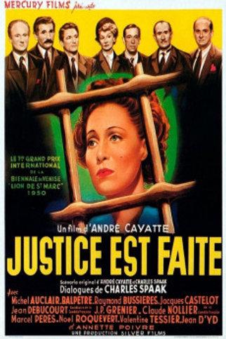 O DIREITO DE MATAR (Jusitice est Fait, 1950)