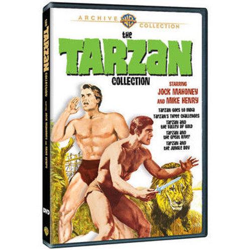 COLEÇÃO TARZAN - 5 FILMES (The Tarzan Collection, 1962-1967) - Legendados