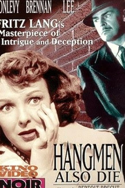 OS CARRASCOS TAMBÉM MORREM (Hangmen Also Die, 1943) - DVD legendado