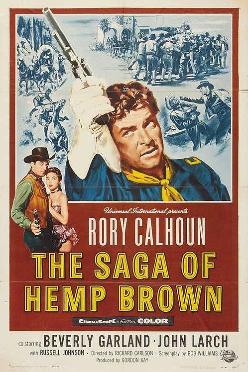 MEU SANGUE POR MINHA HONRA (The Saga of Hemp Brown, 1958) - Legendado