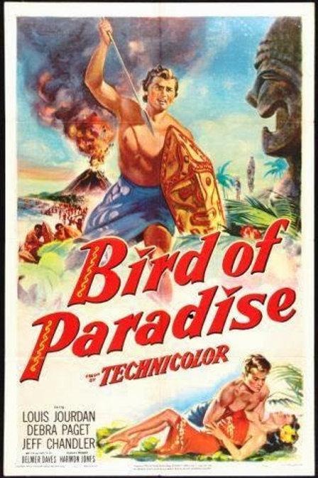 AVE DO PARAÍSO (Bird of Paradise, 1951) - Legendado