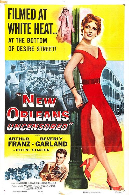 PORTO DA VIOLÊNCIA (New Orleans Uncensored, 1955)
