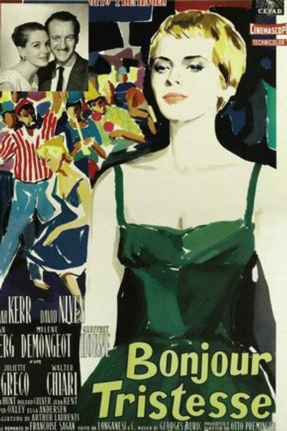 Bom Dia, Tristeza 1958 (Bonjour Tristesse) DVD Legendado