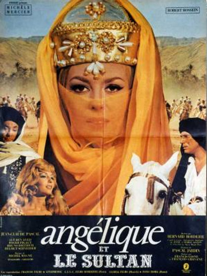 ANGÉLICA E O SULTÃO (Angélique et le Sultanm 1968) - Legendado