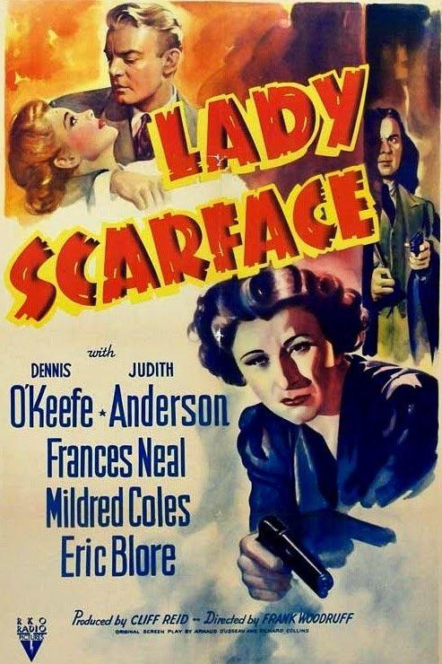 MULHER SINISTRA (Lady Scarface, 1941)