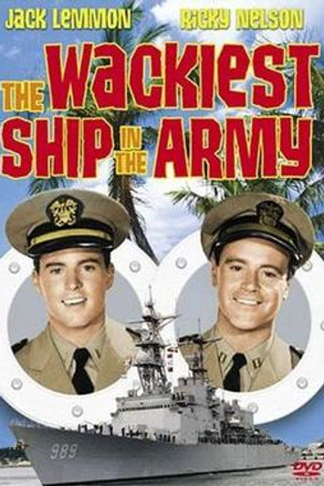 O PIOR CALHAMBEQUE DO MUNDO (The Wackiest Ship In The Army, 1960)