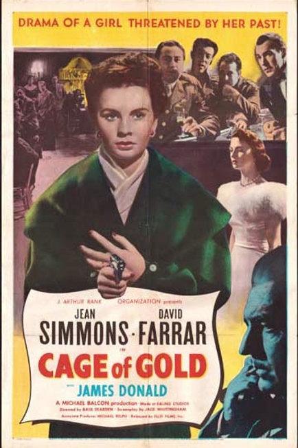 DO AMOR AO ÓDIO (Cage of Gold, 1955) - Legendado em português