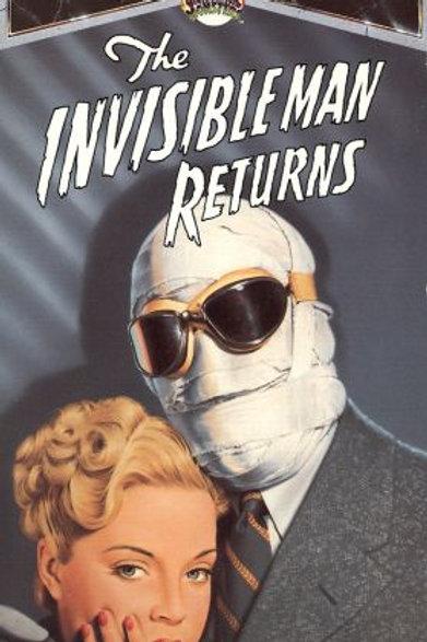 A VOLTA DO HOMEM INVISÍVEL (The Invisible Man Returns, 1940)