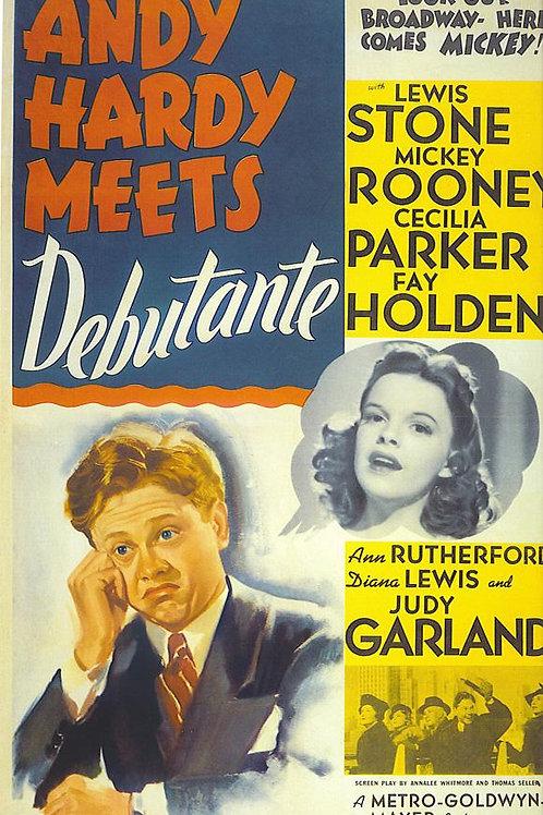 NDY HARDY E GRÃ-FINA (Andy Hardy Meets Debutante, 1940) DVD legendado