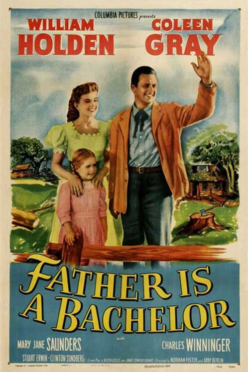 ALMA DE BOÊMIO (Father is a Bachelor, 1950)