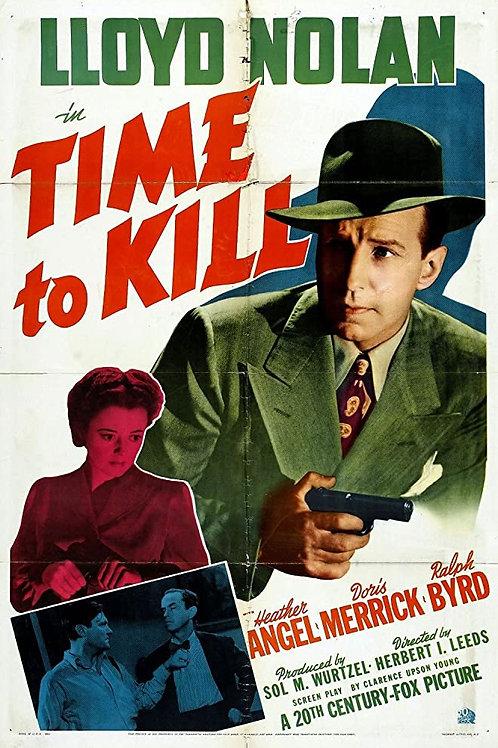 HORA PARA MATAR (Time To Kill, 1942)