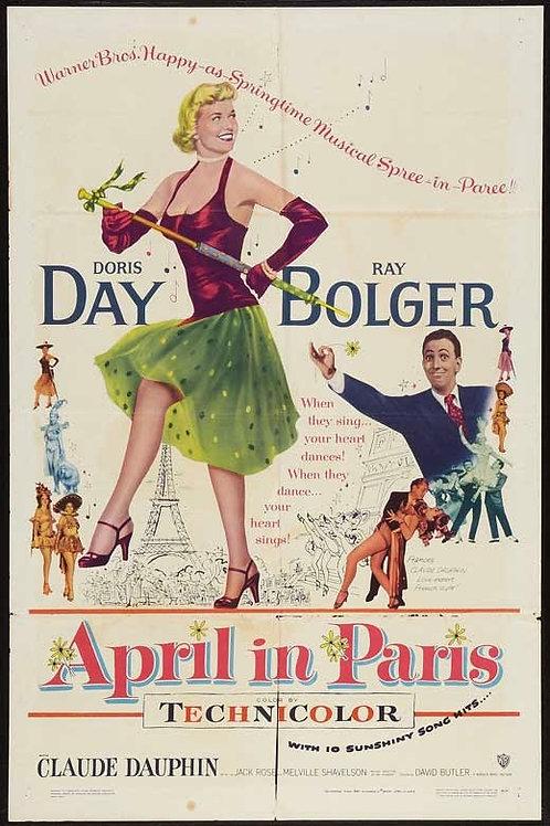 ABRIL EM PARIS (April In Paris, 1952) - Legendado em português